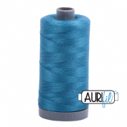Aurifil 28 Cotton Thread - 1125 (Petrol Blue)